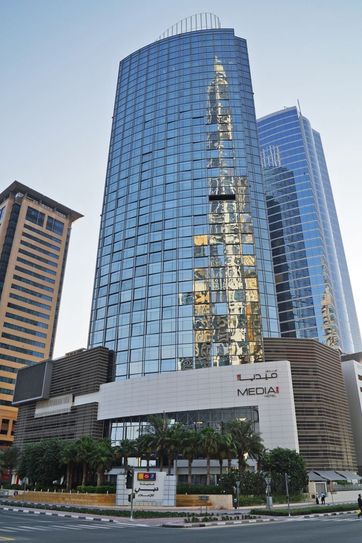 Projects topline gulf contracting llc for No 1 hotel in dubai